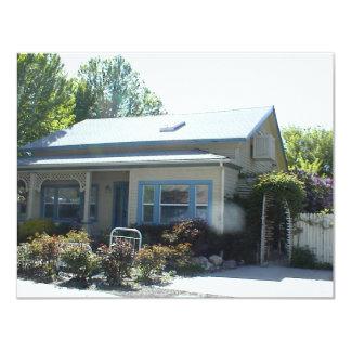 Historic Home in Yreka, California 11 Cm X 14 Cm Invitation Card