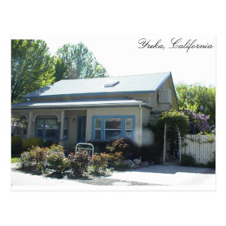 Historic Home in Yreka, California Postcards
