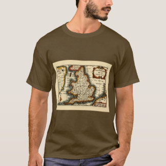 Historic Kent County Map, England T-Shirt
