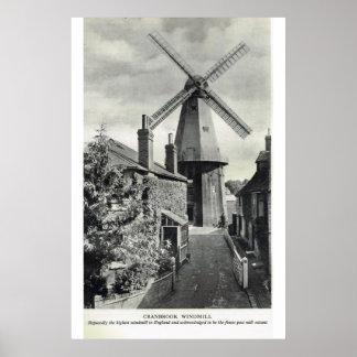 Historic Kent, Cranbrook Windmill Posters