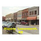 Historic  Leavenworth, KS Postcard