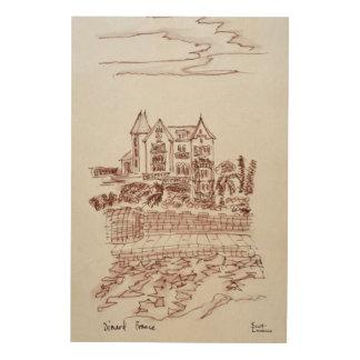 Historic Mansion | Saint-Enogat, Dinard, Brittany Wood Wall Decor