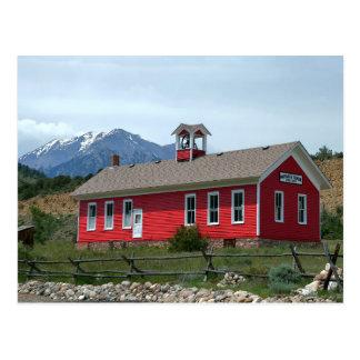 Historic Maysville School, Colorado Postcard