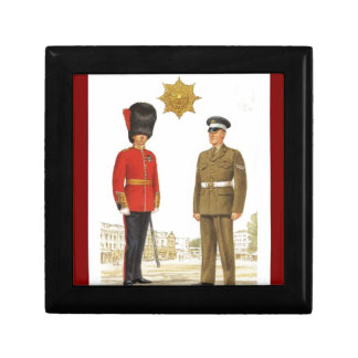 Historic military Uniforms, Coldstream Guards Jewelry Boxes