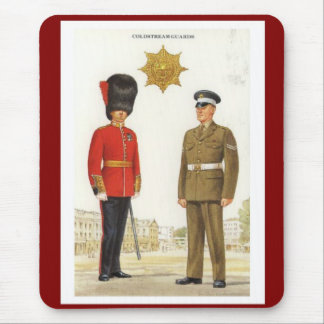 Historic military Uniforms, Coldstream Guards Mouse Pad