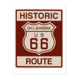 Historic Oklahoma RT 66 Post Card