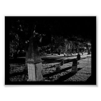 Historic Old Graveyard in St. Augustine Florida Posters
