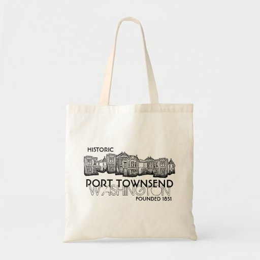 Historic Port Townsend Washington founded bag