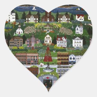 Historic Port Townsend, Washington Heart Sticker