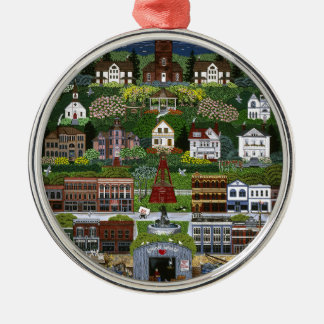 Historic Port Townsend, Washington Silver-Colored Round Decoration