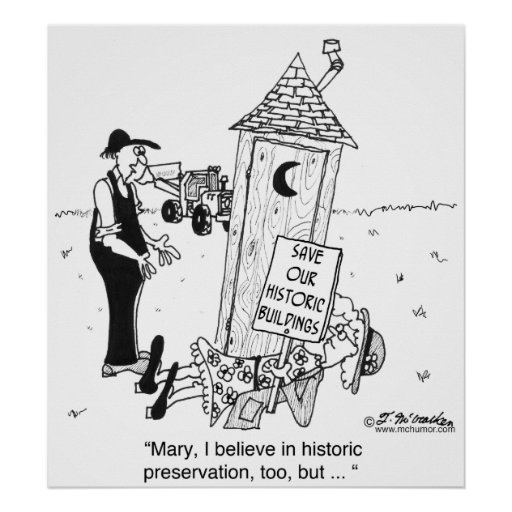 Historic Preservation of Outhouses? Poster