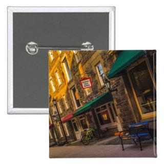 Historic Properties, Halifax, Nova Scotia 15 Cm Square Badge