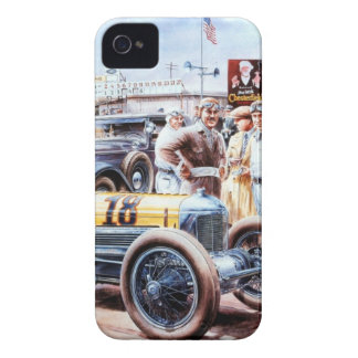 Historic RACE to car Case-Mate iPhone 4 Cases