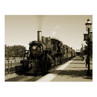Historic Railroad Postcard
