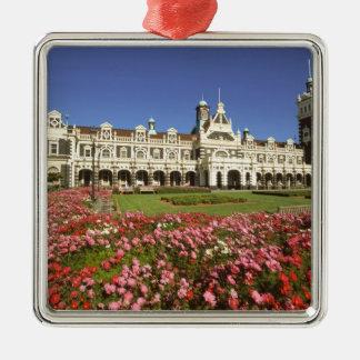 Historic Railway Station, Dunedin, New Zealand Christmas Ornament