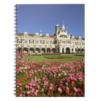 Historic Railway Station, Dunedin, New Zealand Spiral Notebooks