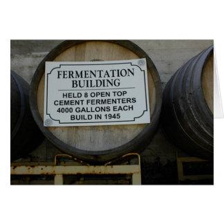 Historic Rotta Winery, Templeton, CA Greeting Card