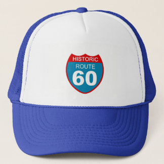 Historic Route 60 Trucker Hat