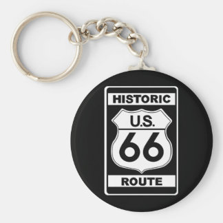 Historic Route 66 Keychain