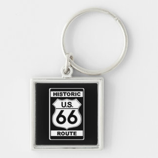Historic Route 66 Premium Keychain