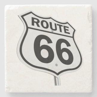 Historic Route 66 Stone Coaster