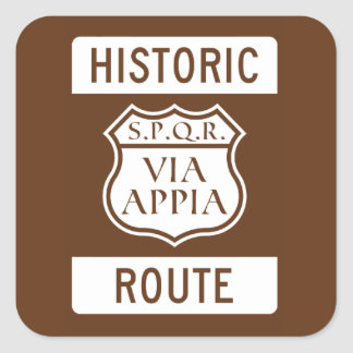 Historic Route: Stickers