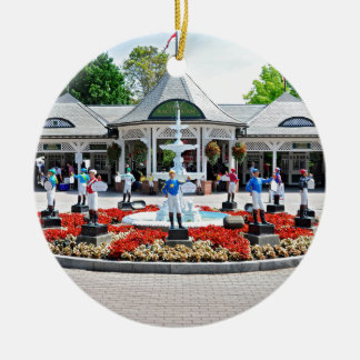 Historic Saratoga 150 on Opening Day Christmas Ornament