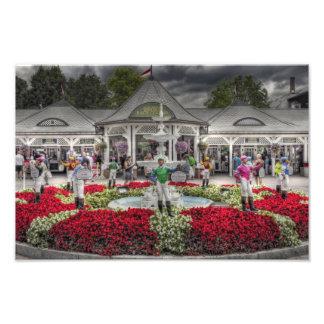 Historic Saratoga Race Course Entrance Art Photo