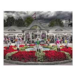 Historic Saratoga Race Course Entrance Photo Print