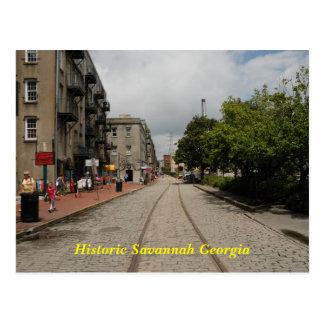 Historic Savannah Georgia Postcard