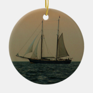 Historic Schooner Christmas Ornament