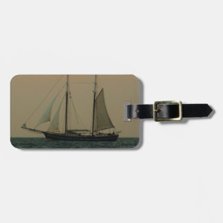 Historic Schooner Luggage Tag