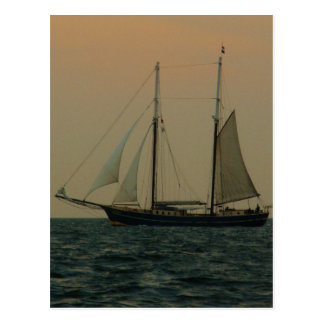 Historic Schooner Postcard