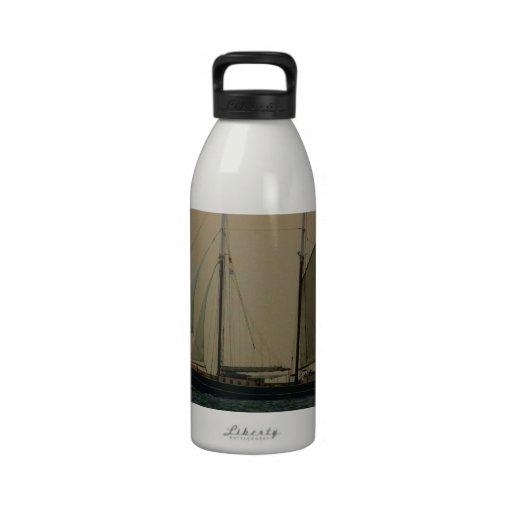 Historic Schooner Reusable Water Bottles
