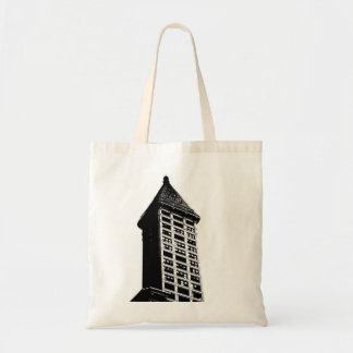 Historic Seattle Building Tote Bag