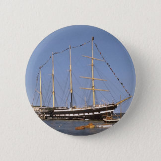 Historic ships 6 cm round badge