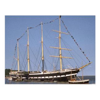 Historic ships postcard