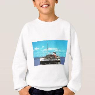 Historic Ships Waverley, British steam yacht Sweatshirt