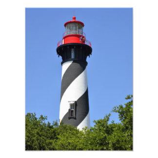 Historic St. Augustine, Florida Lighthouse Art Photo