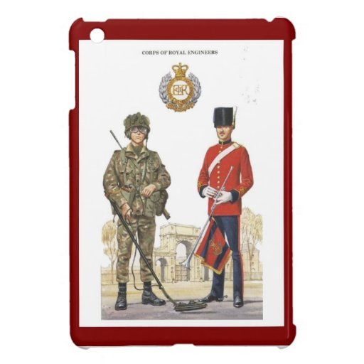 Historic Uniforms, Corps of Royal Engineers iPad Mini Cases