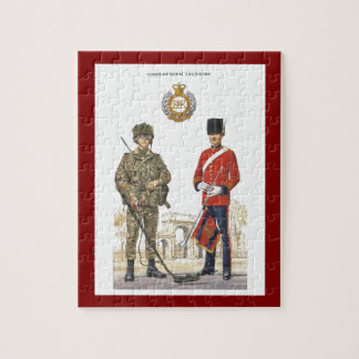 Historic Uniforms, Corps of Royal Engineers Jigsaw Puzzle