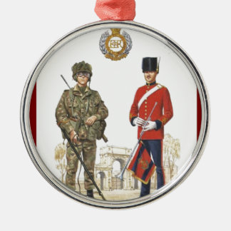 Historic Uniforms, Corps of Royal Engineers Silver-Colored Round Decoration