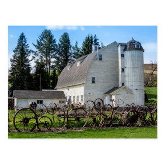 Historic Uniontown Washington Dairy Barn Postcard