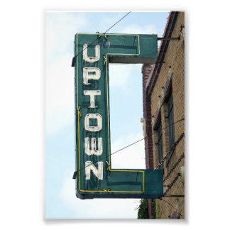 Historic Uptown Theatre, Marceline, Missouri Art Photo