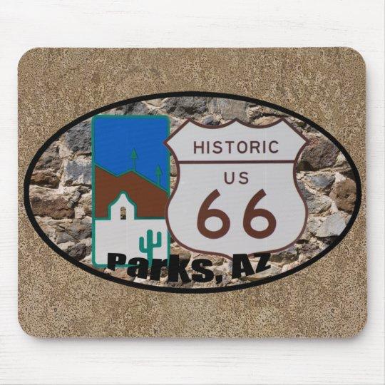 Historic US Route 66 Parks Arizona Mouse Mat