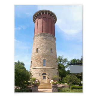 Historic Water Tower in Western Springs Photo Print