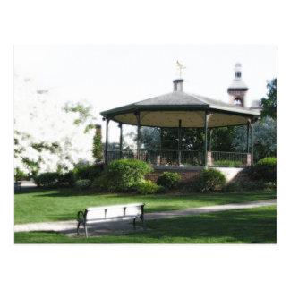 Historic Woodstock Square (postcard)