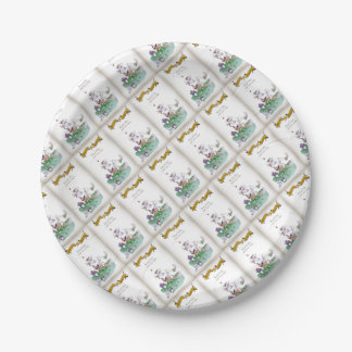 Historic Yorkshire Cricket 'keep calm' Paper Plate