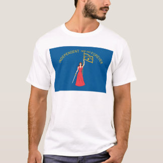 Historical Alabama Flag (1861-1861) T-Shirt