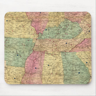 Historical and Military Map of the US Mouse Mat